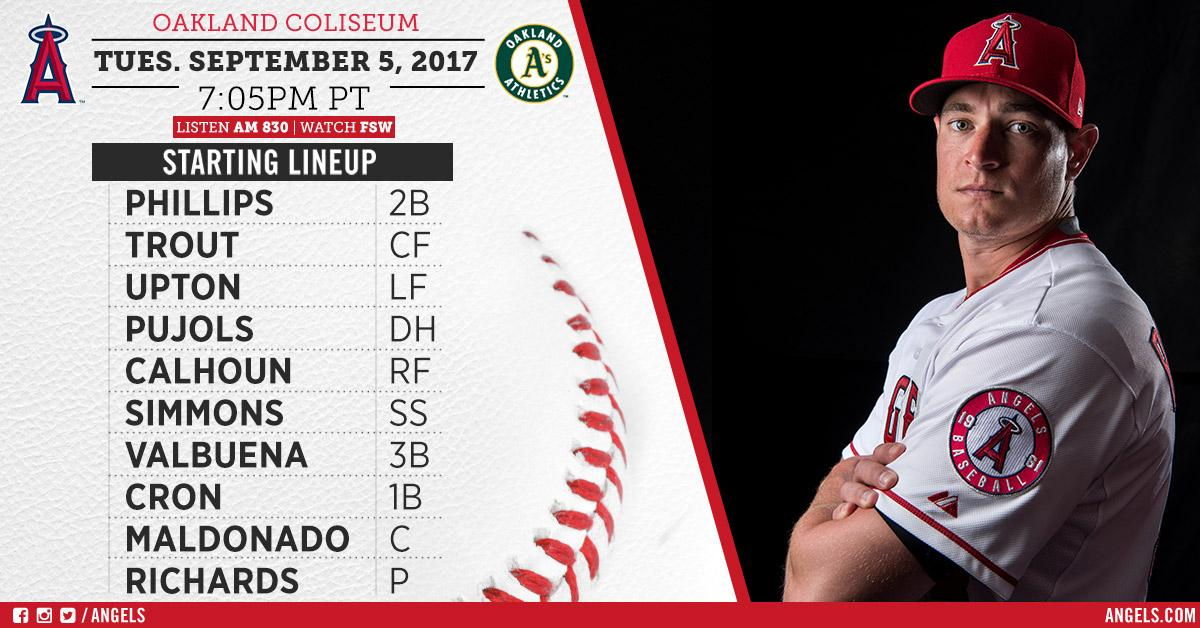 .@GRICHARDS26 is back on the hill tonight for the #Angels! #EveryGameMatters  Game Preview: https://t.co/Wjg3ttOacs https://t.co/iOXfS5Fh1O
