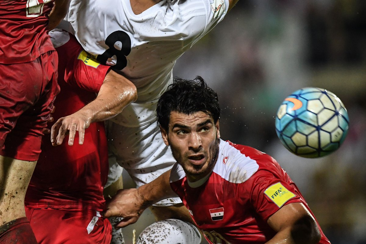 War-torn Syria's World Cup dreams are alive after a dramatic tie with Iran