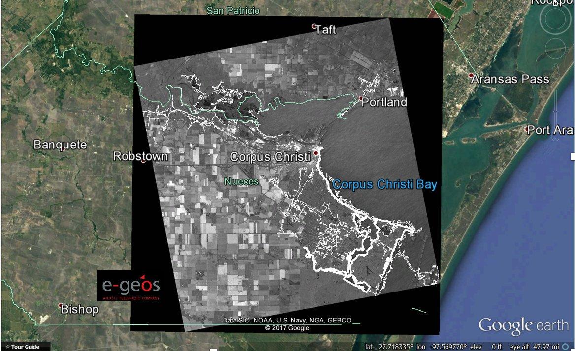 Ursa uses radar imagery to reveal extent of Texas flooding