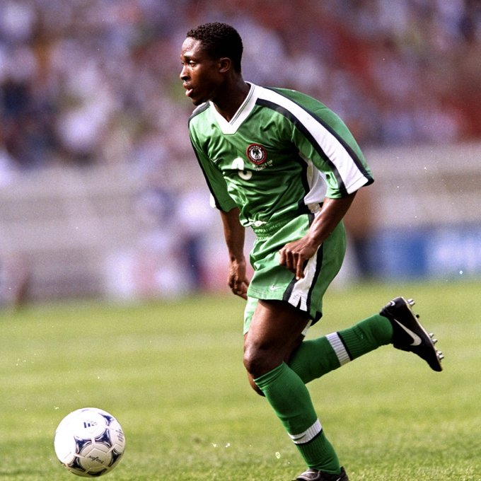 Happy birthday Celestine Babayaro. The youngest ever player to make an appearance in the Champions league.