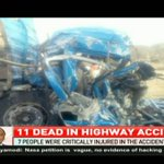 11 dead in highway accident
