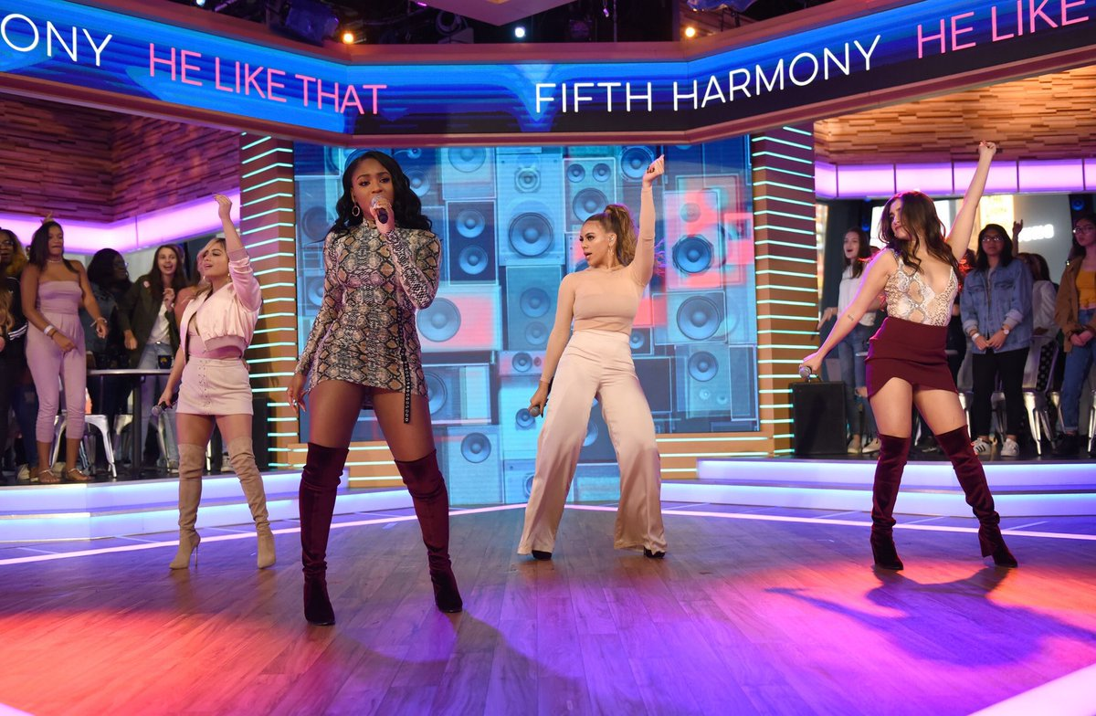 ICYMI Fifth Harmony performed 'He Like That' on Good Morning America this week: https://t.co/X8p8uE2x2T https://t.co/ZvZj2RNDOT