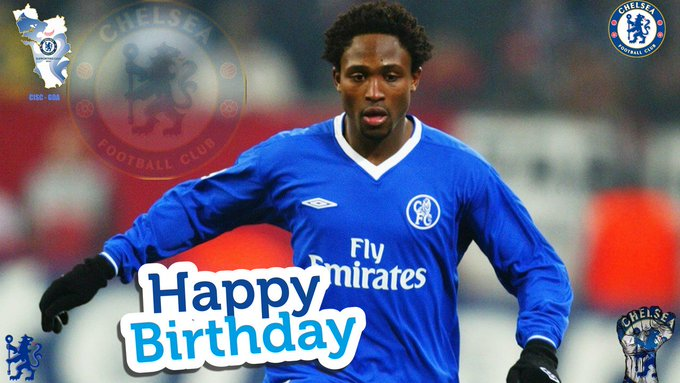 Happy birthday to Celestine Babayaro who turns 39 today.