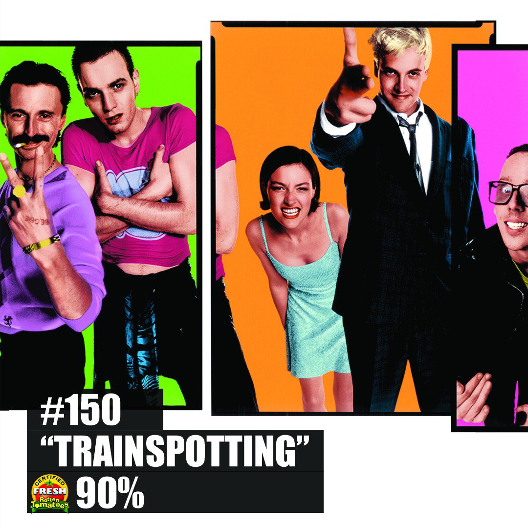 Choose life.  Choose #Trainspotting on @RottenTomatoes 200 Essential Films to Watch Now - only on @FandangoNOW https://t.co/8l3DZXECdV https://t.co/7lJBCdplTx