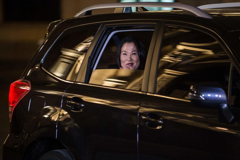Peru opposition chief Keiko Fujimori faces graft probe: Lawyer