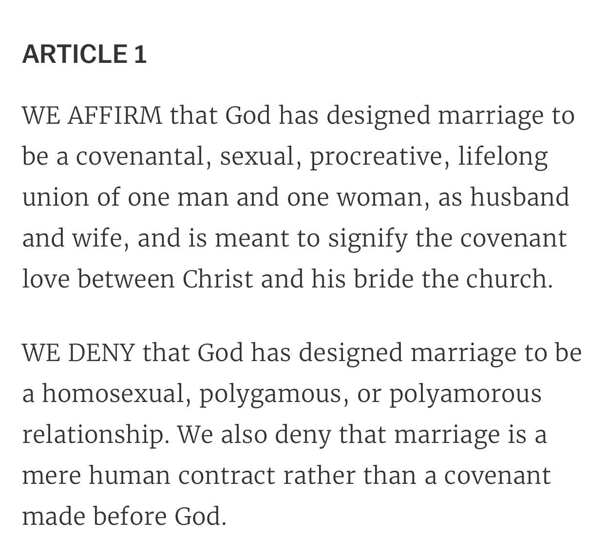 The same people who drafted the #NashvilleStatement voted for Donald Trump. Jesus has been hijacked. https://t.co/2rpmGogwnd