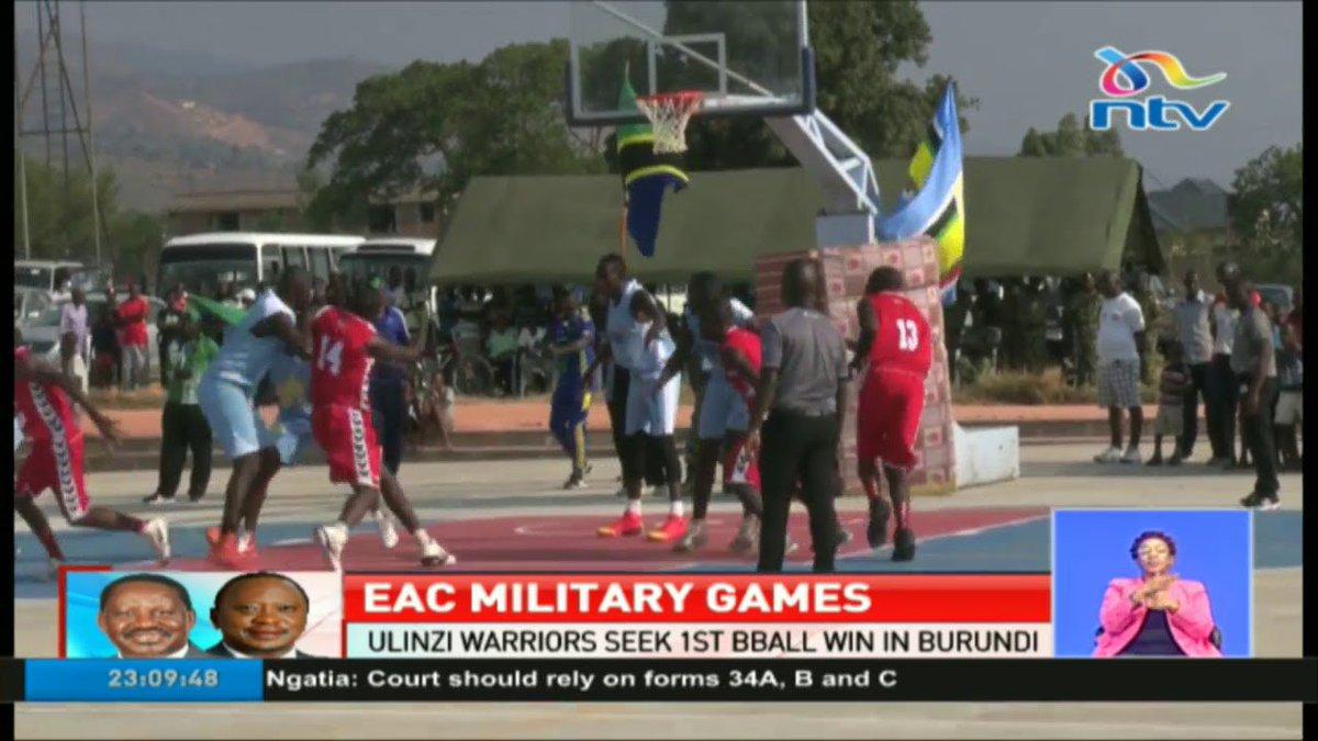 Ulinzi Warriors seek 1st basketball win at EAC military games in Burundi