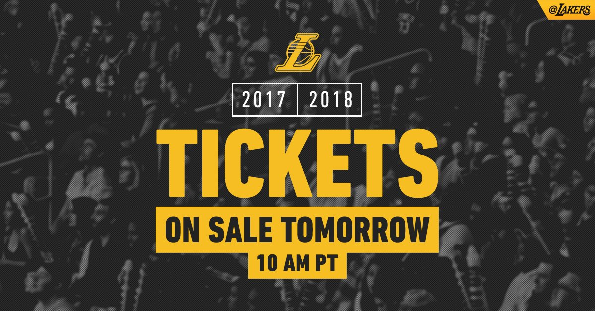 Tickets for the season go onsale tomorrow at 10am PT. Shop at https://t.co/PyT6XupecF https://t.co/tLeFVPvpWt