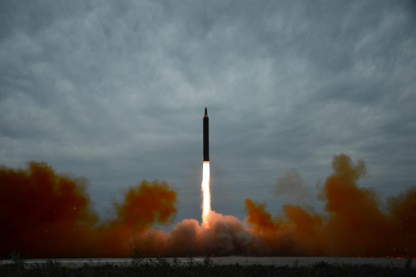 North Korea says launched Hwasong-12 rocket to counter South Korea-U.S. drills: KCNA