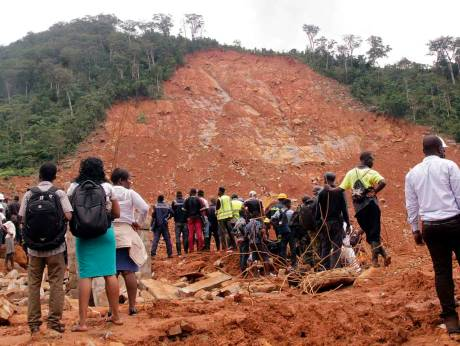 Sierra Leone landslide victims found in different country