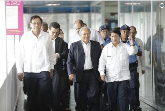 Presidente Sánchez Cerén en Nicaragua