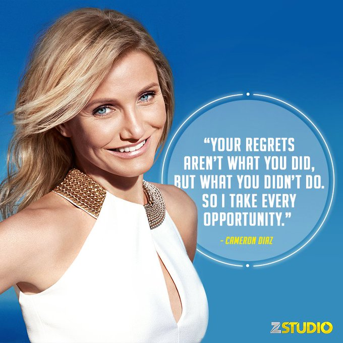 Lessons from our favourite Charlie s Angel! Happy Birthday Cameron Diaz!
