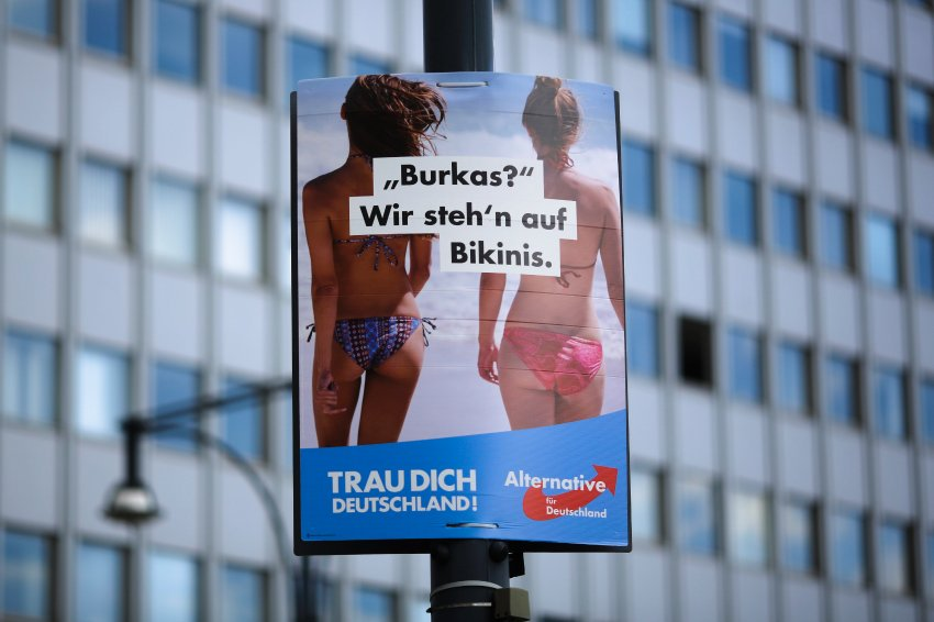 Germany for Germans: U.S. Ad Agency Boosts Right-Wing Populist AfD