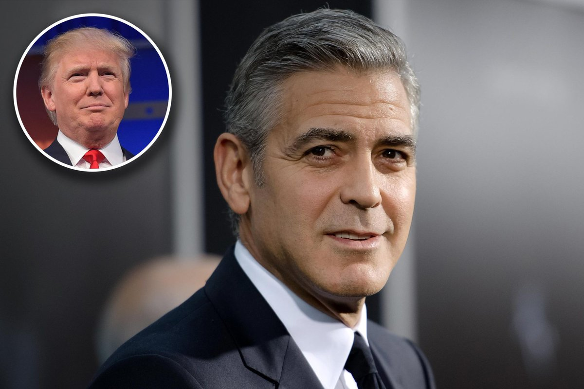 "George Clooney rips Trump: ""In over his head"" and ""incapable"":"