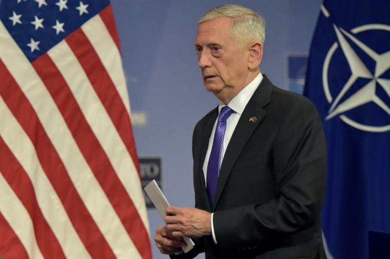 Transgender members in U.S. military may serve until study completed: Mattis