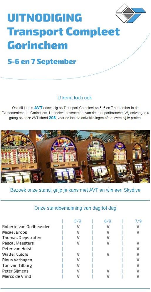 test Twitter Media - AVT is van de partij op Transport Compleet. Grijp uw kans en bezoek AVT. Tickets via deze link: https://t.co/KqGdGDxDDt https://t.co/fKnts53CJU