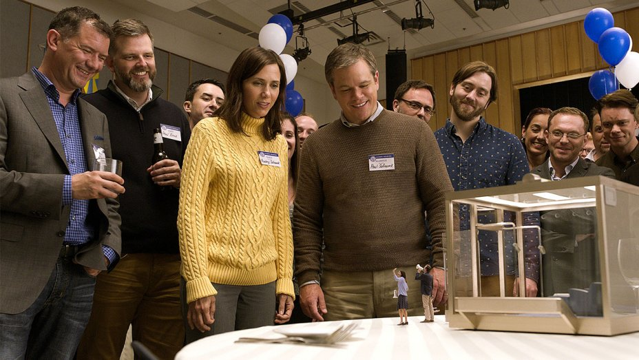 'Downsizing' teaser previews Matt Damon's self-shrinking situation