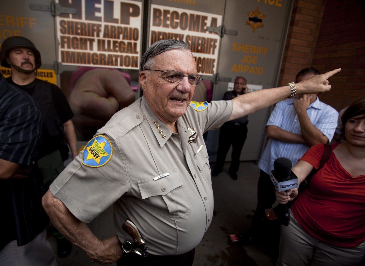 The year I spent in Joe Arpaio's tent jail was hell. He should never walk free. https://t.co/BT3GN96fje https://t.co/KSNUv0e1Wu