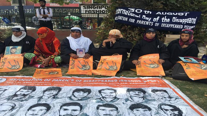 'We want to ask the government, what have you done to our sons?'