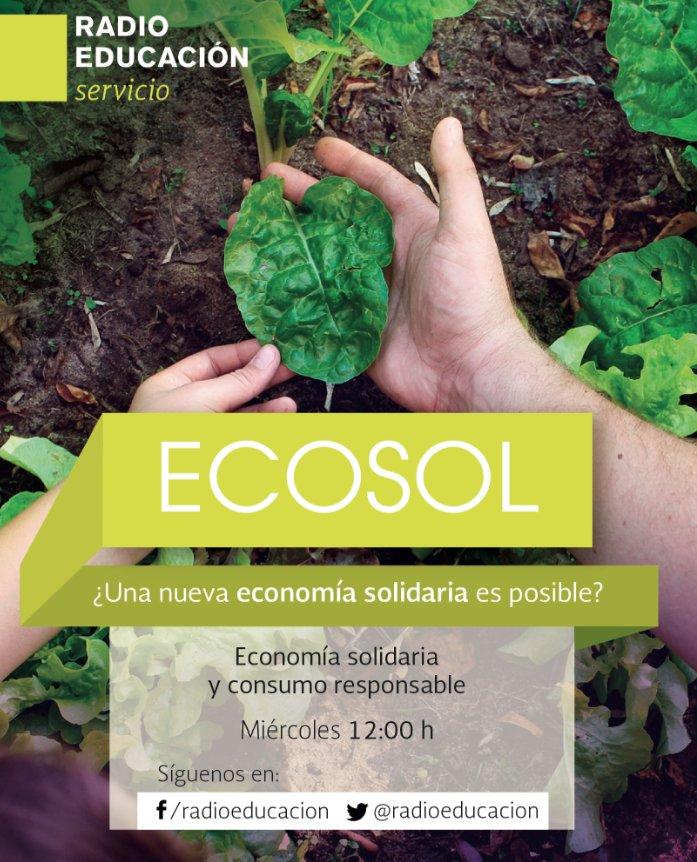 A las 12 h pueden escuchar todo sobre economía solidaria en 'Ecosol' https://t.co/wG1UEZXRPH https://t.co/oOjdj3UT67