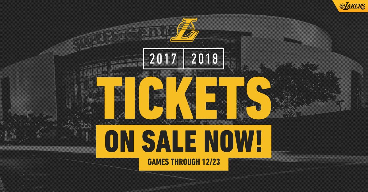 Tickets for games through 12/23 are officially onsale! Shop now at https://t.co/PyT6XupecF https://t.co/seMQKCOpl9