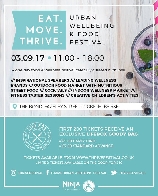 Birmingham's first Health and Wellbeing Festival (+ win VIP tickets)
