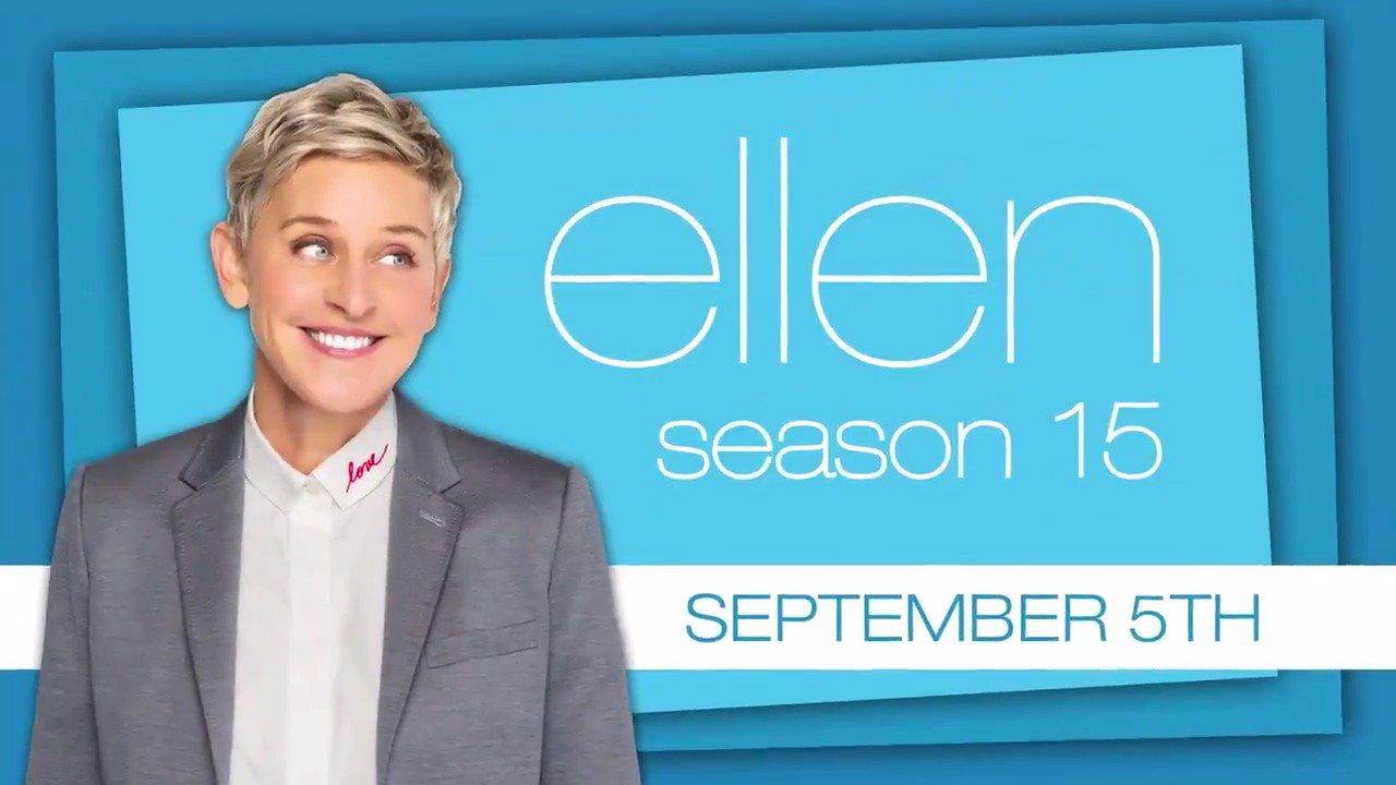 Season 15 is 6 days away. Get ready for Tuesday. #Ellen15 https://t.co/auuw2PLhEN