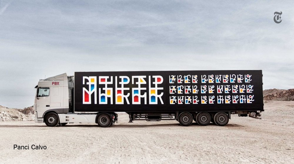 A fleet of trucks in Spain is taking art out of the gallery and putting it on the road https://t.co/lQrYOCVwKJ https://t.co/jgvzO7ebIv