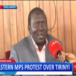 Eastern MPs to Protest over Tirinyi Road