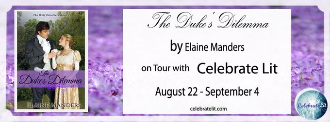 """The Duke's Dilemma""  by Elaine Manders Book Tour and GiveAway"