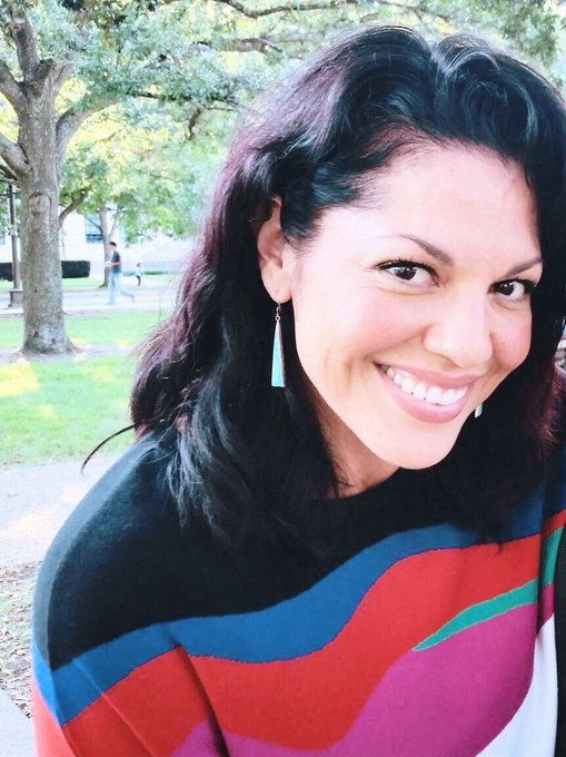 Goodnight and happy birthday to miss sara ramirez hope she has the BEST day
