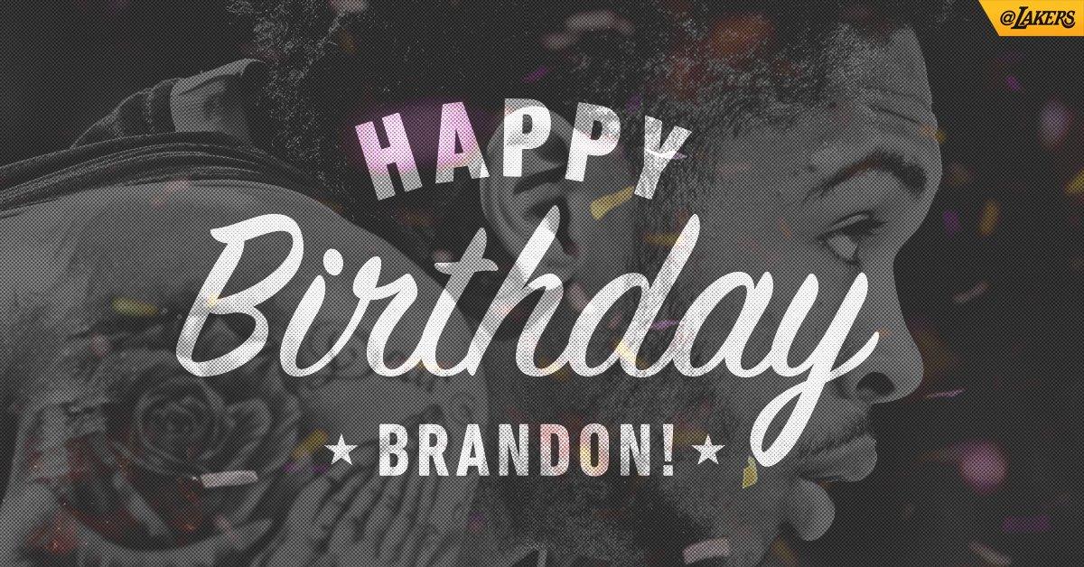 Happy 20th, Brandon! Send @B_Ingram13 some love!! https://t.co/2sonFoAdhb
