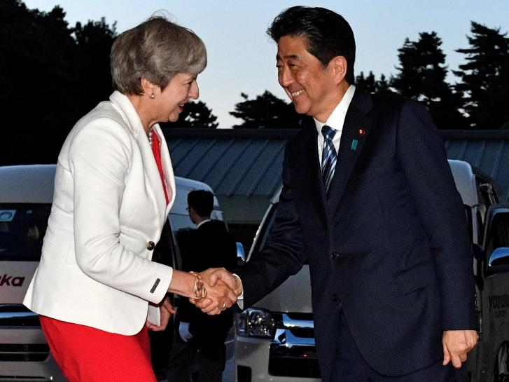 After North Korea missile, Britain and Japan agree closer security ties