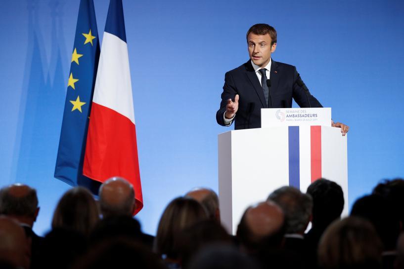 France's Macron unveils 'mother of all reforms' to overhaul labor rules