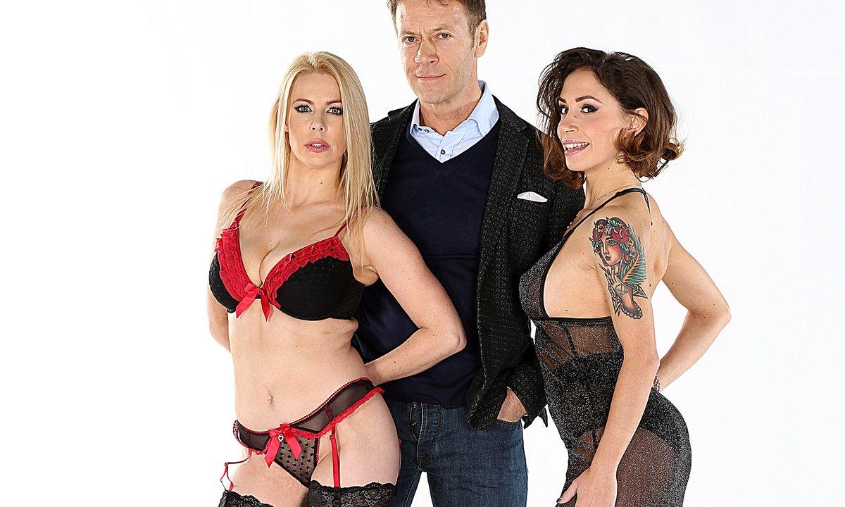Kelly Stafford Returns in 'Rocco & Kelly: Sex Analysts'  @SuperNastyKelly @RoccoSiffrediXX @EvilAngelVideo