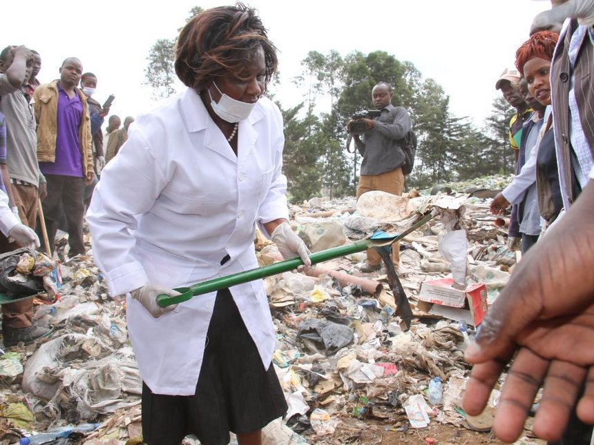 Laboso cleans up Bomet, revs up for county staff cleanup