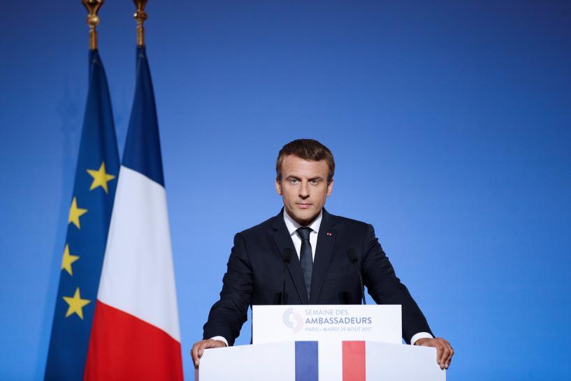 France's Macron says his job not 'cool', cites talks with Turkey's Erdogan