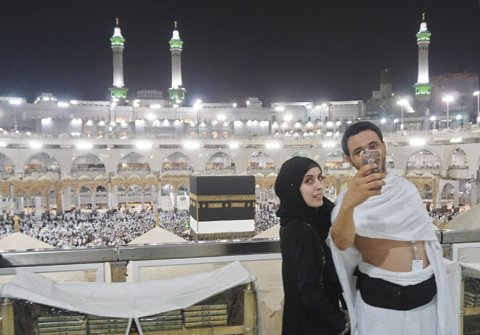 In smartphone age, the hajj is for sharing