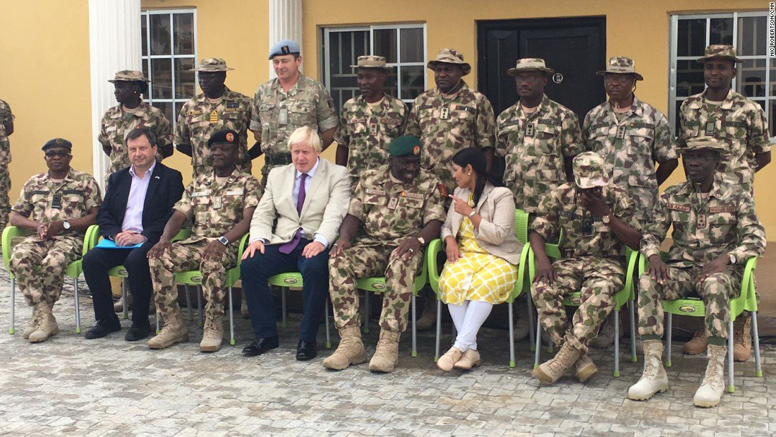 UK government doubles Nigerian aid package to help fight Boko Haram