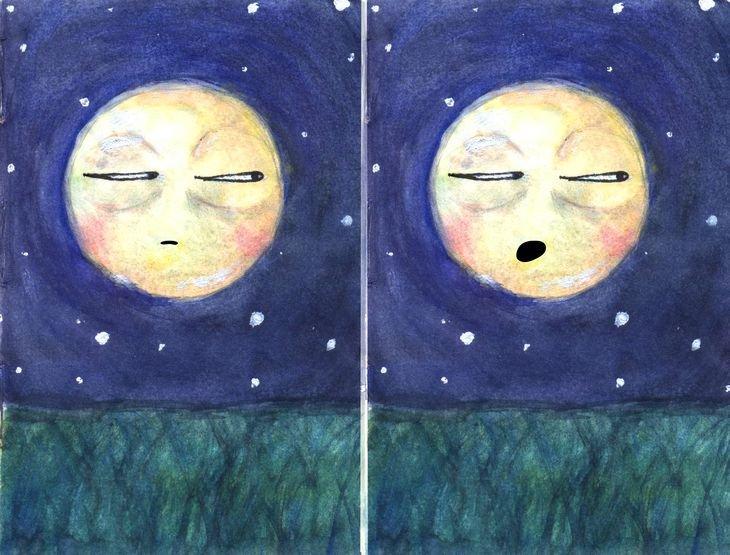 RT @hitRECord: Even the moon is tired ????  https://t.co/bo8tsvcO2F https://t.co/WsjxwG7w9e