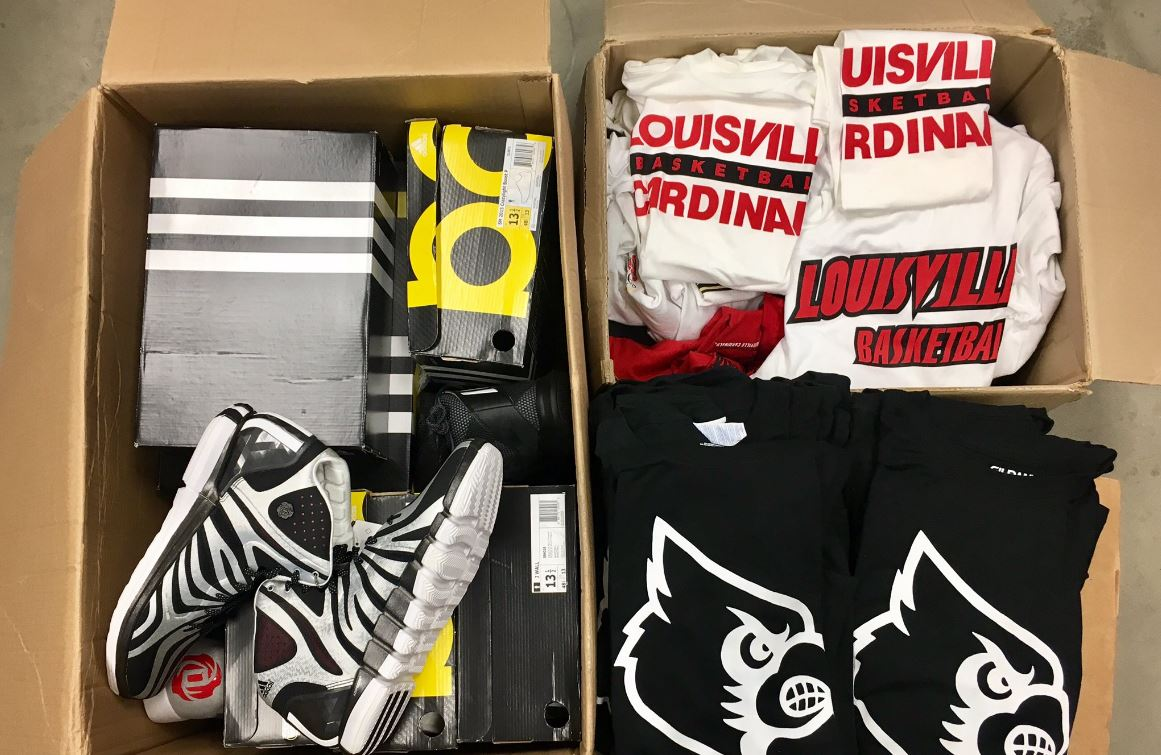 U of L sends boxes of athletic gear to those recovering from Harvey in south Texas