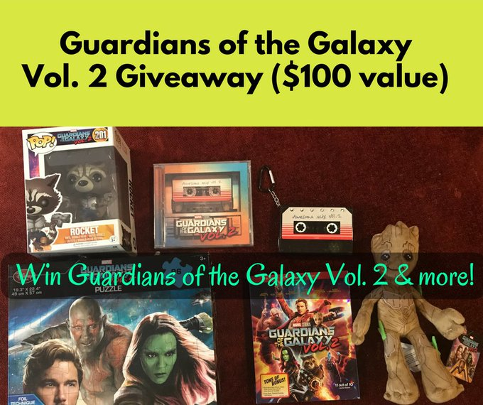 Win a Guardians of the Galaxy Vol. 2 Prize Package