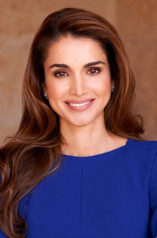 Happy Birthday Queen Rania of Jordan!