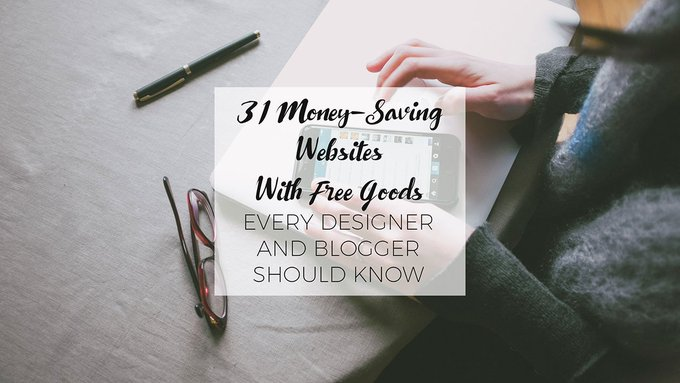 31 MoneySaving Design Freebies Websites You Should Know