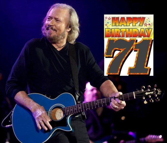 Happy Birthday 71th Dear Barry Gibb   September 1st  More info -->