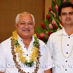 Lopao'o Natanielu Mua is new Minister for Agriculture & Fisheries