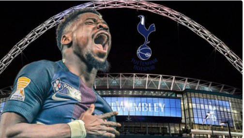 Serge Aurier completes move to Tottenham with PSG receiving £23m for the Ivory Coast star