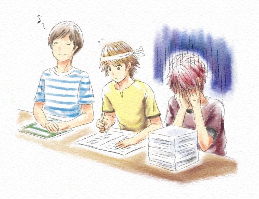 8月31日 赤箱の3人(少年ハリウッド)