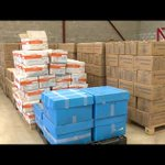 36 tonnes of high energy biscuits dispatched to refugees