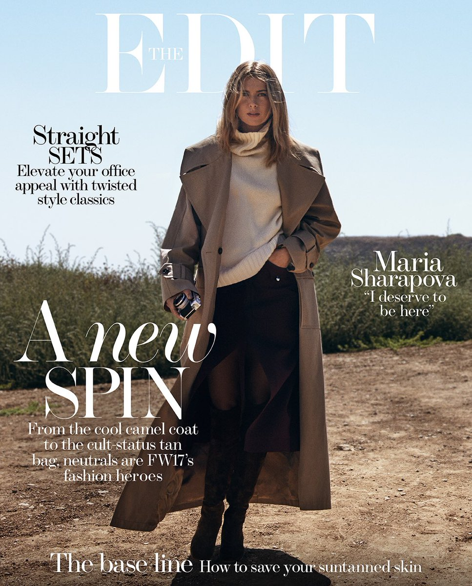 Cover and a few pics from #TheEDIT @NETAPORTER https://t.co/ZgDVBlXc1E https://t.co/eCOqWUV6xq
